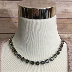 """Kate Spade rare necklace iridescent """"fancy that"""""""